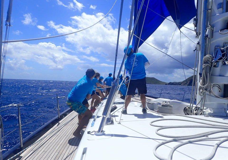 Two young Caribbean sailors participate in 'Loro Piana Regatta Rendezvous'