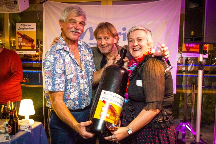 Cork-popping success as Marine Inspirations Big Bottle of Wine Party raises €10,500