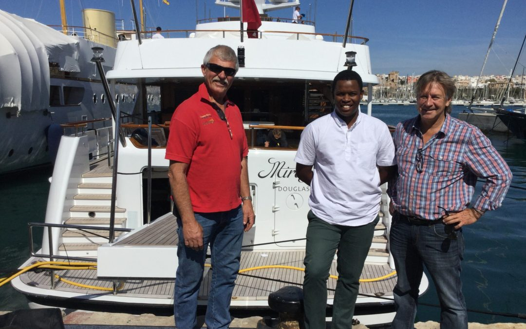 South African seaman on trans-Atlantic voyage of a lifetime.